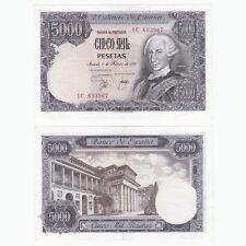 1976 SPAIN - 5000 Pesetas Banknote - P155 - EF.