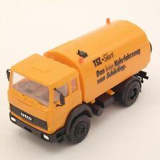 Herpa 309998 embalaje original 1:87 Iveco Trakker 6x6 baukipper-camiones naranja nuevo
