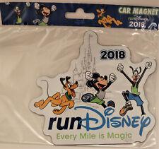 NEW 2018 Run Disney Marathon Every Mile is Magic Magnet