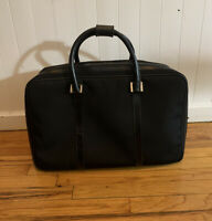Gucci Soft Case Luggage Canvas/Leather