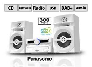 Panasonic SC-UX104 Mini Audio System - Weiß