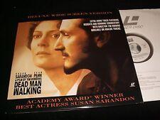 "DEAD MAN WALKING<>SUSAN SARANDON<>2X12"" Laserdiscs<>POLYGRAM HOME VIDEO 80638245"