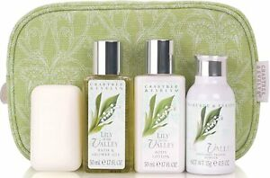 crabtree evelyn classic  lily of the valley set  of 4