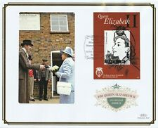 St KITTS 1 OCT 2012 DIAMOND JUBILEE M/SHEET O/S VLE FIRST DAY COVER