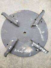 Kodiak Fertilizer Spreader Disc with Fins