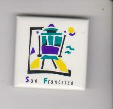 Original Classic Vintage 90's San Francisco Button / Pin