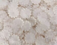 100 White Small Daisy Die Cut Petal Paper Wedding Craft Card Making zP70-15
