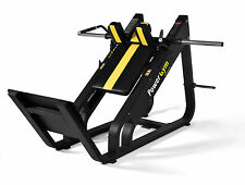 PowerGym Fitness Commercial Olympic Hack Squat Slide Not Leg Press Machine Gym
