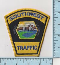 Southwest Traffic Private Security Guard Escort Motor Shoulder Patch Brand New