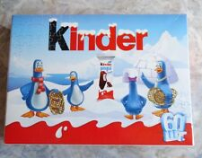 Werbepuzzle KINDER PINGUI, 60 Teile, Ferrero Ukraine, OVP.
