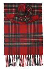 Stewart Royal Modern Tartan 100% Cashmere Scarf - Made by Lochcarron of Scotland