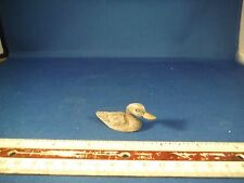 New Pewter Miniature Duck Figurine