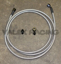 92-95 Civic 4dr Sedan Replacement Stainless Steel Fuel Feed Line Tank to Filter