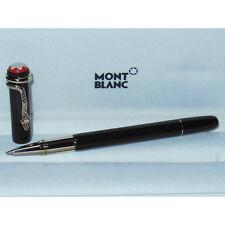 New Montblanc Heritage Rouge et Noir Rollerball Pen Tropic Brown 116552 serpent