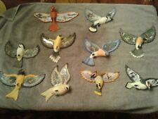 10 Treasured Wings Bradford Exchange Bird Plates Plaques Ltd. Ed. 1-10