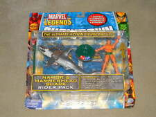 ToyBiz Marvel Legends Showdown Namor Hammerhead Shark Pack New Rare HTF Game