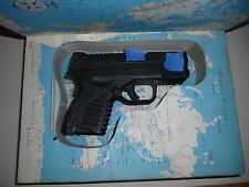 Book safe pistol safe Fits Springfield xds M&P 9mm 45acp 380LCP