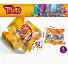 Party : Trolls Blind Gift Pack  Pack Toy Surprise Party Giveaways 6 pcs