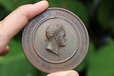 Russian bronze antique medal Alexander I, 1777-1825