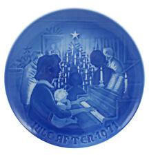 Bing & Grondahl 1971 Christmas Plate Christmas at Home Mint Condition