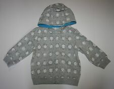 New Gymboree Boys Fun Flurries Baby Monsters Hoodie 18-24m NWT Sweatshirt Top