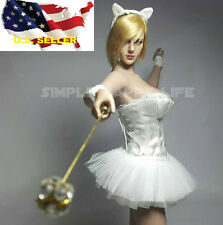 1/6 American European female head short blonde hair Kt009 Phicen hot toys �Usa�