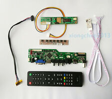 TV T.V56 HDMI LCD CVBS RF Controller board Kit for HSD100IFW1-A00 1024*600 14.1""