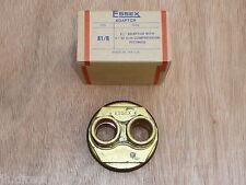 """Essex Adaptor Plug 21/4"""" c/w 2 x 22mm Compression Fittings A1/R Flange 21/4 x 22"""