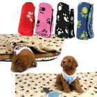 Lovely Design Paw Print Soft Warm Fleece Pet Blanket Dog Cat Mat Puppy Bed Sofa