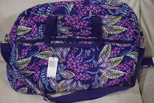Vera Bradley Grand Traveler Bag Batik Leaves Brand New Free Shipping!