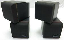 BOSE Doppel-Cube Redline 2 Stück Lautsprecher Schwarz Acoustimass Series II
