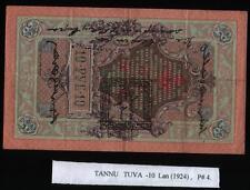 Tannu Tuva - 10 Lan , 1924 P#4