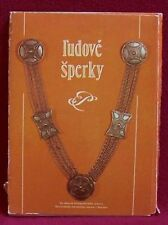 New listing Folk Jewelry Slovakia Antique Silver Necklace Buckles Pins Europe Fashion Art