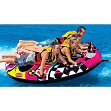 Sportstuff Wet N' Wild Flyer Towable Water Sports Tube 4 person 53-1671