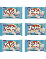 KIT KAT LIMITED EDITION BIRTHDAY CAKE (6) BARS CHOCOLATE CANDY SIX PACK! In Hand