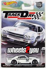 70 CHEVY CHEVELLE - 2016 Hot Wheels Car Culture TRACK DAY D Case Real Riders
