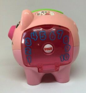 Mattel Laugh & Learn Musical Piggy Bank With 4 Coins 2014