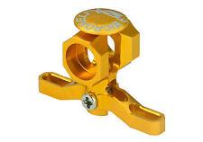 NEW Microheli Blade Mcpx Brushless CNC Alum Main Rotor Hub Gold *FREE SHIPPING*