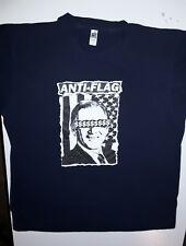 Vintage Anti-Flag Bush $ Large Tee Shirt Punk Rock Band