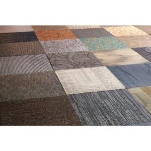 Versatile Assorted Commercial Pattern 24 in. x 24 in. Carpet Tile (10 Tiles/Case