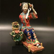 Statue céramique porcelaine chinoise Shiwan Foshan chinese ceramic porcelain