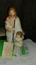 Homco 1993 Jesus & Child & Sheep The Good Shepherd Greatest Story Ever Told