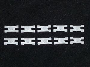 Mopar Chrysler Jeep Belt Side Molding Moulding Rivet Trim Clip Clips 10pcs B