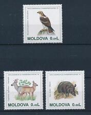 [39442] Moldova 1995 Animals Conservation Bird Deer Wild boar Mnh
