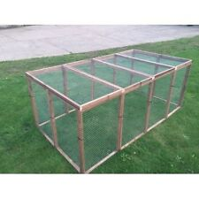 Rabbit Enclosure Pen Aviary Panels Run Chicken Rabbits Puppy Cats Birds Dogs