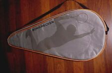 Boris Becker Tennis Racquet Gray Headcover