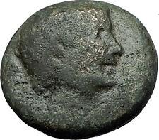 AUGUSTUS DIVUS JULIUS Caesar Domitian Restitution Thessalonica Roman Coin i59348