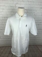 Polo Ralph Lauren White Solid Cotton Polo L $98