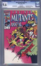 New Mutants Annual #2 CGC 9.6 Davis, 1st Psylocke in U.S., Captain Britain