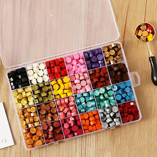 More details for retro fire painting sealing wax pills grain wax seal beads for stamp decor uk  .